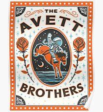 Art The Avett Brothers Thalia Mara Hall Poster