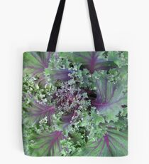 Fresh Red Kale From the Garden Tote Bag