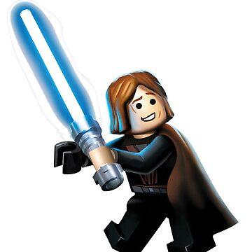 Lego Anakin Figure Sticker by PenstareOutlet