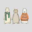 The Three Gentlemen Well-Dressed Bears. by birdtale