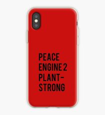 Peace, Engine 2, Plant-Strong iPhone Case