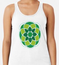 Flower#01 Racerback Tank Top