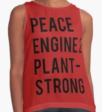 Peace, Engine 2, Plant-Strong Contrast Tank