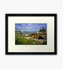 Pleasant Point Beach Framed Print
