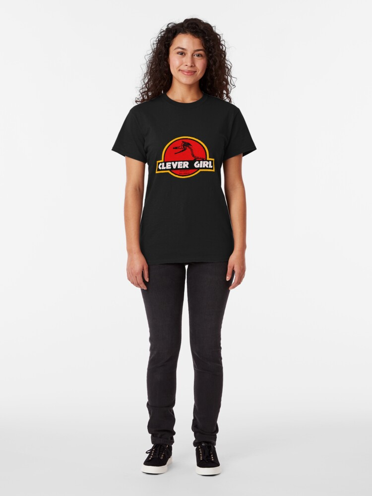 Alternate view of Clever Girl Classic T-Shirt