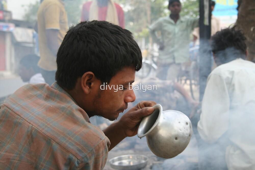 looking through by divya  balyan