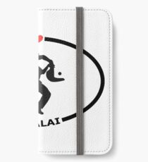 I Love Jai Alai with Heart iPhone Wallet/Case/Skin