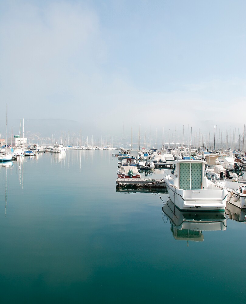 Boats at Trieste Harbour by jojobob