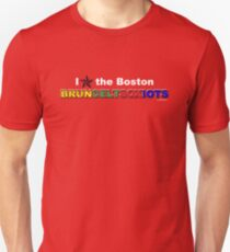 I Love Boston Sports (nautical star) T-Shirt