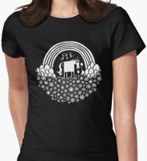 Magic Super Fun Time Land Women's Fitted T-Shirt