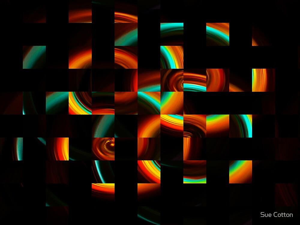 Reggae Mosaic  by Sue Cotton