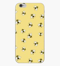 Bee seamless pattern iPhone Case
