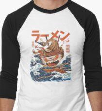 RAMEN OFF KANAGAWA Men's Baseball ¾ T-Shirt