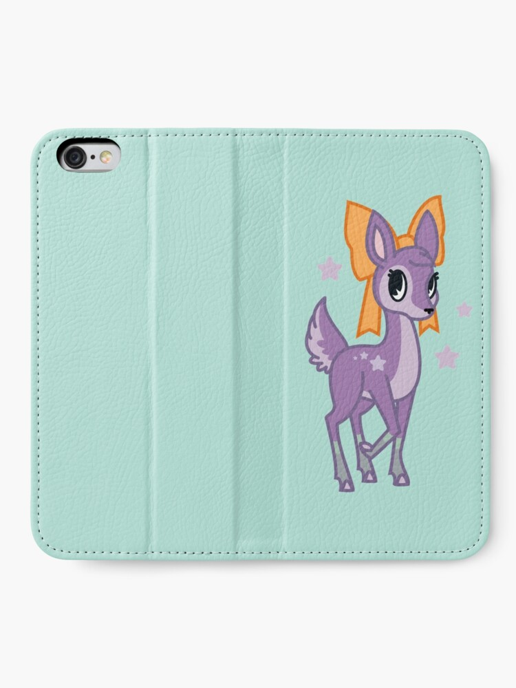 Alternate view of Starry Fawn iPhone Wallet