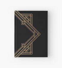 Eleganter goldener Diamant Notizbuch
