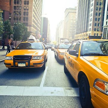 Cabs by 45thAveArtCo