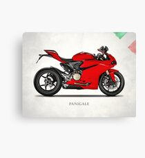 The Panigale 1299 Canvas Print