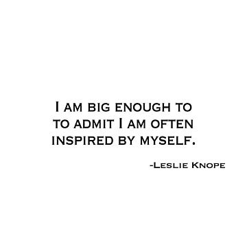 Leslie Knope Quote Parks and Rec by amandagolf59