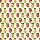 Pineapples and Strawberries!  by Shelly Still