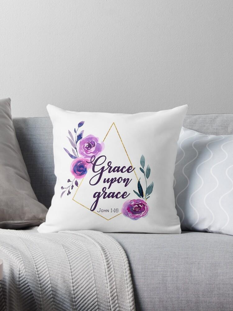 0b72a5c2016 Cojines «Grace Upon Grace