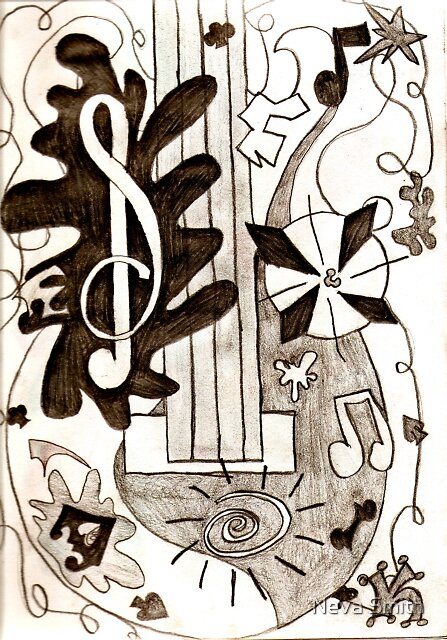 Guitar  by Neva Smith