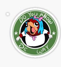 Do you know de way Sticker