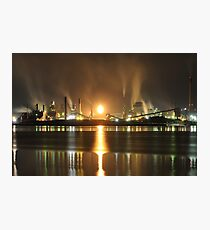 Steel and Water Photographic Print