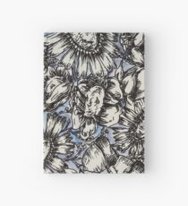 Periwinkle Garden Hardcover Journal
