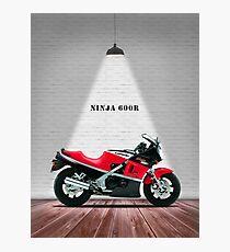 The GPZ 600R Ninja Photographic Print