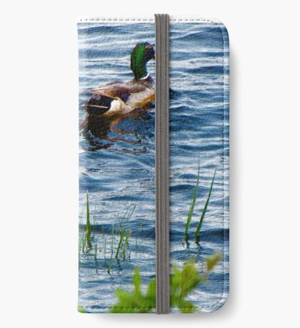 Mallards In the reeds ! iPhone Wallet