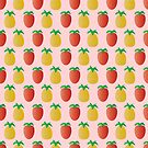 Strawberries and Pineapples - A Tropical Surprise!  by Shelly Still