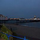 Eastbourne Pier just befre it gets too dark! by Kayleigh Sparks