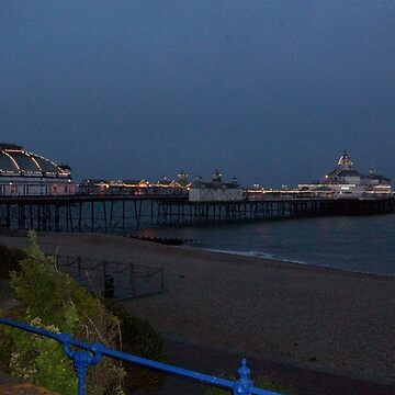 Eastbourne Pier just befre it gets too dark! by kayleighsparks