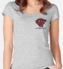 Cabello Rose Women's Fitted Scoop T-Shirt