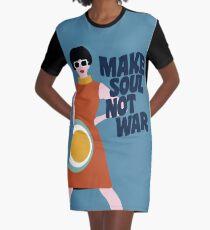 Make Soul Not War Graphic T-Shirt Dress