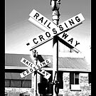 Railway Crossing by kostasimage