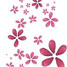 Pink Petals by Airen Hall