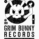 Grim Bunny Records (Black Lettering) by Saranet