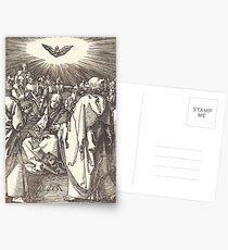 Albrecht Dürer or Durer Pentecost Postcards