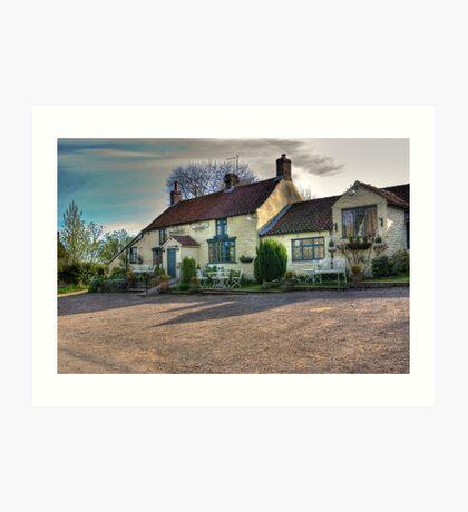 The Hare Inn - Scawton near Helmsley,North Yorkshire Art Print