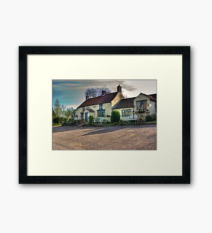 The Hare Inn - Scawton near Helmsley,North Yorkshire Framed Print