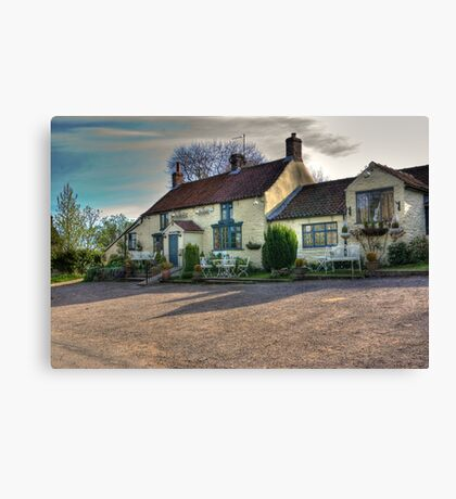 The Hare Inn - Scawton near Helmsley,North Yorkshire Canvas Print
