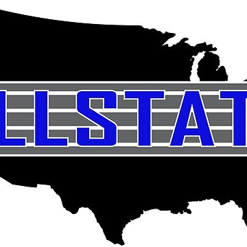 Allstate style logo - Blue by ScooterStreet