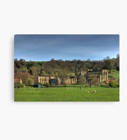 The Abbey Ruins Canvas Print