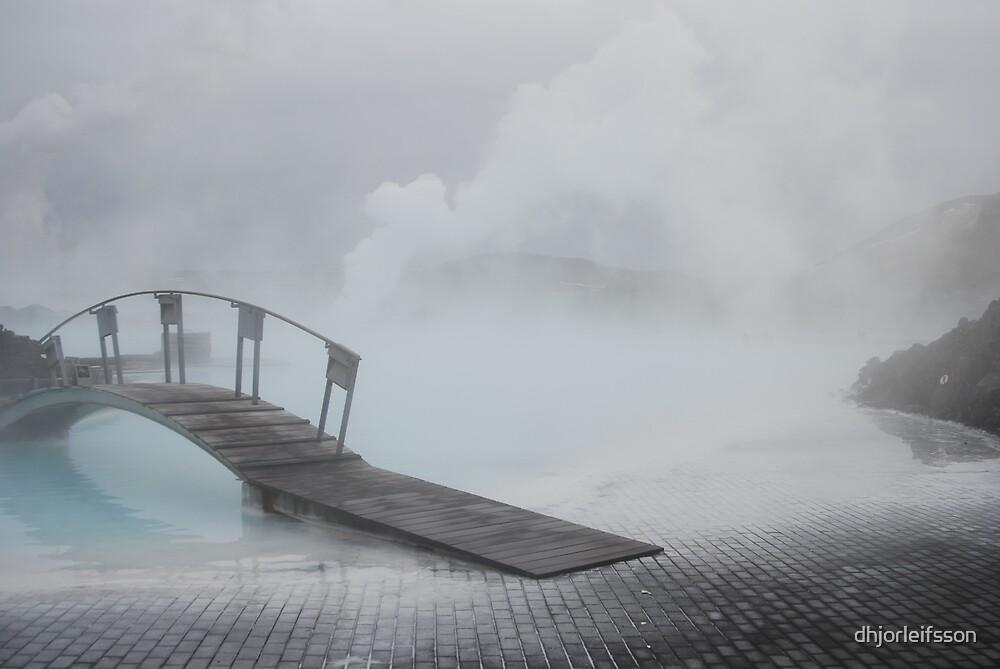 Blue Lagoon Bridge by dhjorleifsson