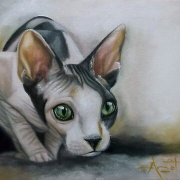 Sphinx cat no.1 by AnetDuToit