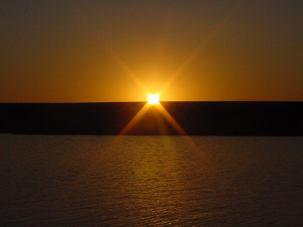 Blue Lagoon Sunset by BellaStarr