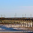 Seaside Fishing Pier by Cynthia48