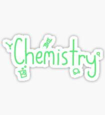 Chemistry Symbols Sticker