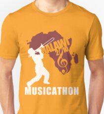 MUSICATHON Tshirt Red Unisex T-Shirt